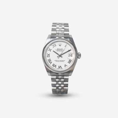 Rolex 31mm Stainless Steel Datejust Watch