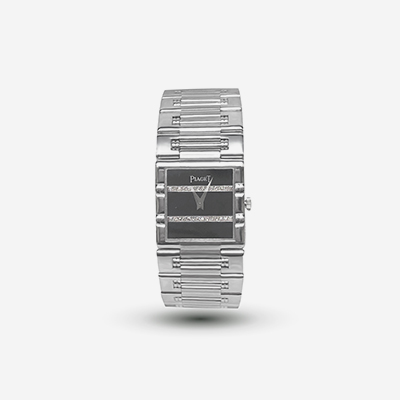 18kt Piaget Square Dancer Watch