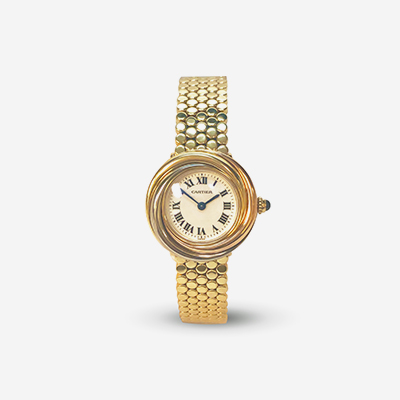 Cartier Trinity quartz ladies watch