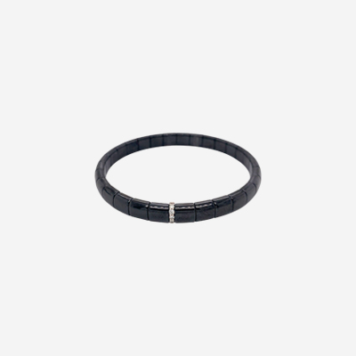 Demeglio Black Ceramic Bracelet