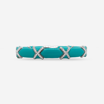 18KT Turquoise Cuff Bracelet